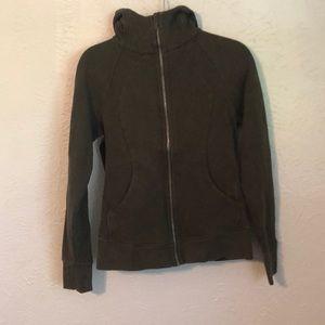 Lululemon zip up jacket CA35801 RN 106259  size 8